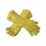 Ansell ActivArmr WorkGuard 43-216 Leather Kevlar Work Gauntlets