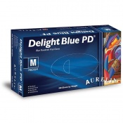 Aurelia Delight Blue PD Vinyl Gloves 38895-9