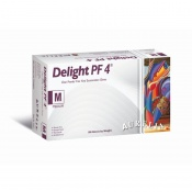 Aurelia Delight PF 4 Clear Powder-Free Vinyl Examination Gloves