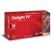 Aurelia Delight PF Medical Grade Vinyl Gloves 3822