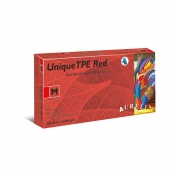 Aurelia Unique TPE Powder-Free Red Gloves 47226-9
