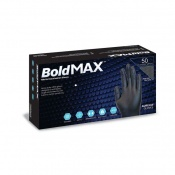 Aurelia Bold Max Black Nitrile Examination Gloves