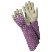 Briers Allium Purple Gardening Gauntlet Gloves B8691