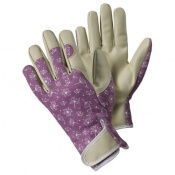 Briers Allium Purple Patterned Lady Gardener Gloves B8690