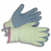 Clip Glove Cosy Chenille So Comfortable Ladies Latex-Coated Gardening Gloves