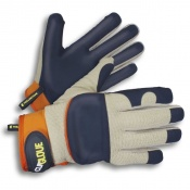 Clip Glove Leather-Palm Soft and Supple Gardening Gloves
