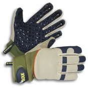 Clip Glove Gripper PVC Dot Gardening Gloves