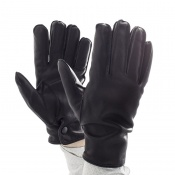 Slash Resistant Prixseam Pyrohide Leather Police Gloves
