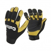 Cutter CW800 Cow Grain Leather Men's Ultimate Utility Work Gloves