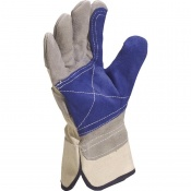 Delta Plus DS202RP Cowhide Leather Docker Gloves