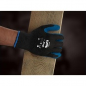 Ansell Edge 48-305 Palm Coated Polyester Handling Gloves