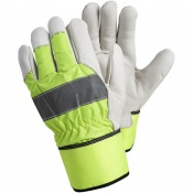 Ejendals Tegera 298 High Visibility Insulated Heavy Work Gloves