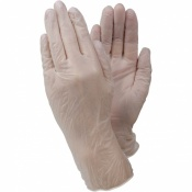 Ejendals Tegera 819a Disposable PVC Gloves