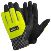 Ejendals Tegera 9123 High Visibility Touchscreen Work Gloves