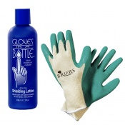 Gloves in a Bottle and Briers General Gardening Gloves Summer Gardening Bundle