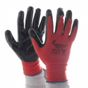 Hantex Nitrile Coated Polyester Gloves NGX-R