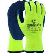 KOOLgrip II Hi-Vis Yellow Grip Gloves