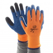 KOOLgrip Hi-Vis Orange Grip Gloves (Case of 100 Pairs)