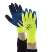 KOOLgrip Hi-Vis Yellow Grip Gloves (Case of 100 Pairs)