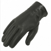 Women's Uniform Lined Leather Police Gloves