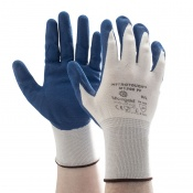 Marigold Industrial Nitrotough N1500PF Nitrile-Coated Gloves