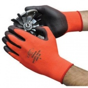 Polyco Matrix Red PU Work Gloves MRP (Case of 144 Pairs)