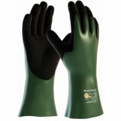 MaxiChem Chemical Resistant Gauntlet Gloves 56-633 (Pack of 12 Pairs)