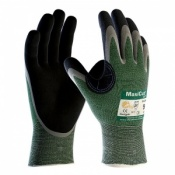 MaxiCut Oil Resistant Level 3 Palm Coated Grip Gloves 34-304 (Pack of 12 Pairs)