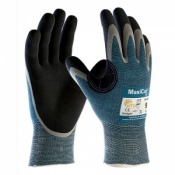 MaxiCut Oil Resistant Level 4 Palm Coated Grip Gloves 34-404