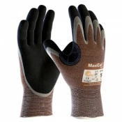 MaxiCut Oil Resistant Level 2 3/4 Coated Grip Gloves 34-205 (Pack of 12 Pairs)