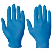 Supertouch Metal-Detectable Powder-Free Nitrile Gloves (Pack of 100)