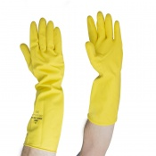 Polyco Deep Sink Extra Long Rubber Gloves 62 (Case of 120 Pairs)