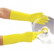 Polyco Deep Sink Extra Long Rubber Washing Up Gloves