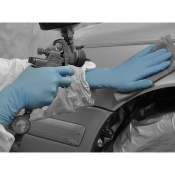 Polyco Bodyguards GL891 Blue Nitrile with Long Cuff  Disposable Gloves