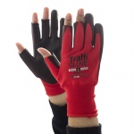 TraffiGlove TG1020 3 Digit Cut Level 1 Safety Gloves