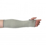Portwest 35cm Cut-Resistant HPPE Grey Sleeve A689GR