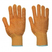 Portwest Criss Cross PVC Handling Gloves A130
