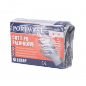 Portwest PU Palm Coated Cut-Resistant Gloves for Vending Machines VA620