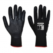 Portwest Dexti-Grip Nitrile Foam Black Gloves A320BK