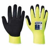 Portwest A340 Hi-Vis Grip Yellow Gloves (Case of 240 Pairs)