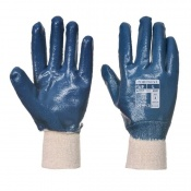 Portwest A300 Nitrile Knitwrist Handling Gloves (Case of 144 Pairs)