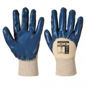 Portwest Nitrile Light Handling Navy Gloves A330NA