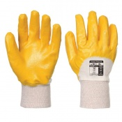 Portwest Nitrile Light Handling Yellow Gloves A330YE (Case of 240 Pairs)