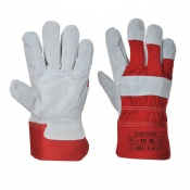 Portwest Premium Chrome Rigger Red Gloves A220RE