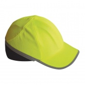 Portwest Hi-Vis Semi-Vented Long-Peak Bump Cap