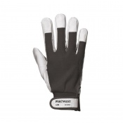 Portwest Tergsus Leather Black Gloves A250BK