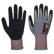Portwest CT VHR Nitrile Foam Cut Level E Gloves CT65