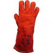 Red Welder Gauntlets WGR