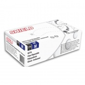 Shield GD76 Clear Powder-Free Polysynthetic Gloves