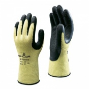 Showa S-Tex KV3 Latex Coated Cut Level 5 Gloves